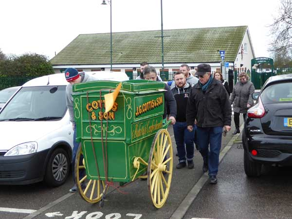 Bakers Cart in Websters Way car park