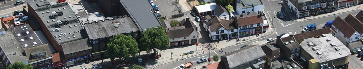 aerial picture of 91 high street