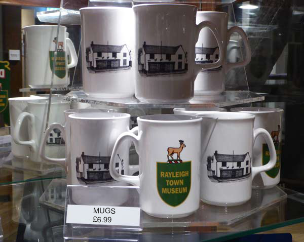 Rayleigh Town Museum Mugs