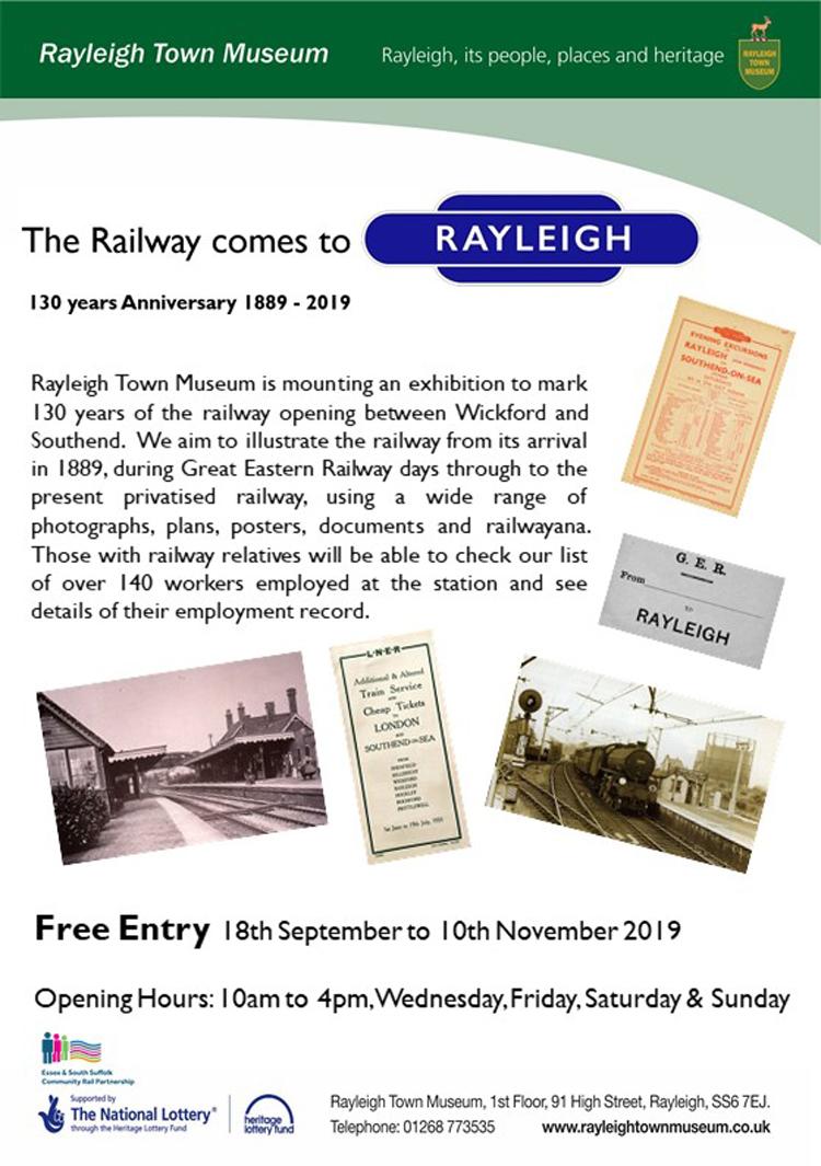 130th Anniversary Railway Rayleigh